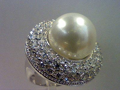 Серебряное кольцо  80911