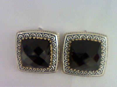 Серебряные серьги  80914