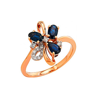 Золотое кольцо  82260 от Bestwatch.ru