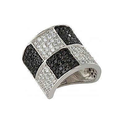 Серебряное кольцо  82532
