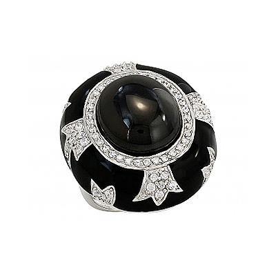 Серебряное кольцо  82575