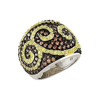 Серебряное кольцо  82611