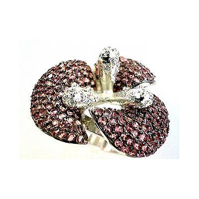 Серебряное кольцо  82621