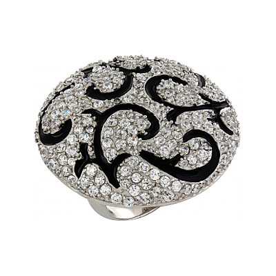 Серебряное кольцо  82623
