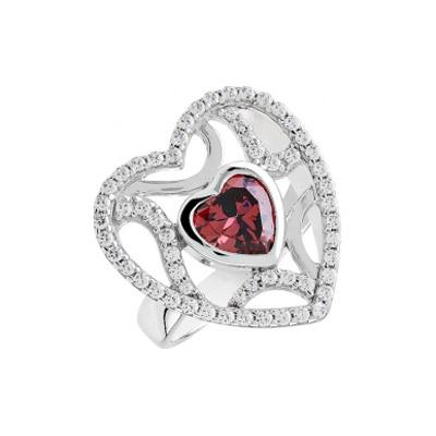 Серебряное кольцо  82783
