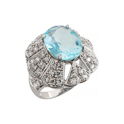 Серебряное кольцо  83460