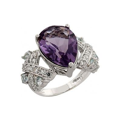 Серебряное кольцо  83462