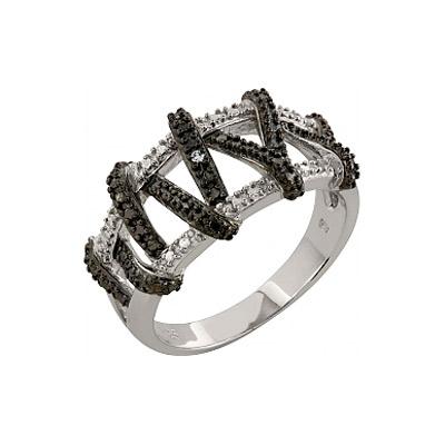Серебряное кольцо  83475