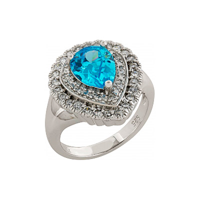 Серебряное кольцо  83481