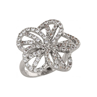 Серебряное кольцо  83554