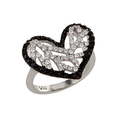 Серебряное кольцо  83558