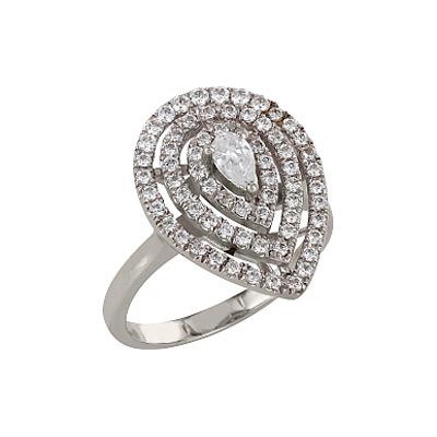 Серебряное кольцо  83561