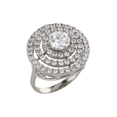 Серебряное кольцо  83563