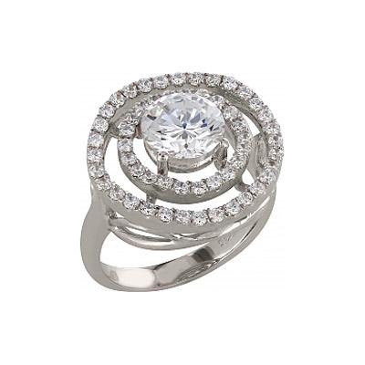 Серебряное кольцо  83565