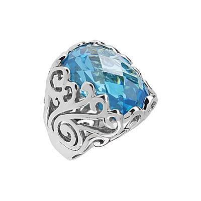 Серебряное кольцо  83795
