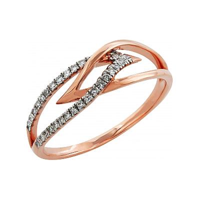 Золотое кольцо  Ювелирное изделие 99010