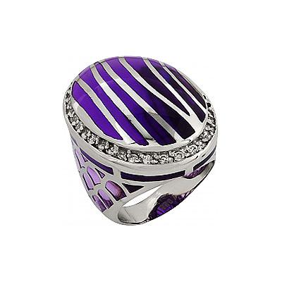 Серебряное кольцо  Ювелирное изделие 99370