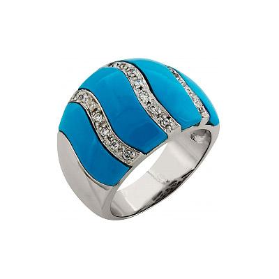 Серебряное кольцо  99371
