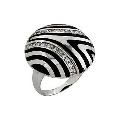 Серебряное кольцо  Ювелирное изделие 99376