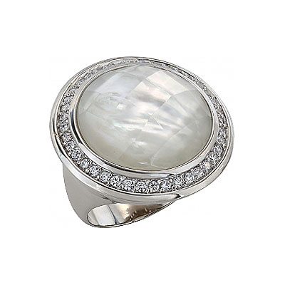 Серебряное кольцо  99445