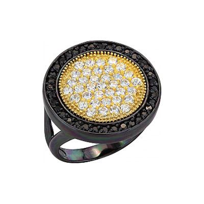 Серебряное кольцо  99448