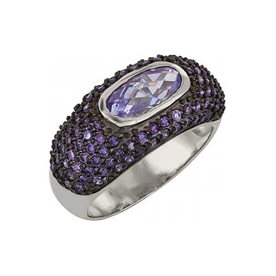 Серебряное кольцо  Ювелирное изделие 99594