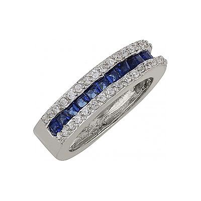 Серебряное кольцо  99595
