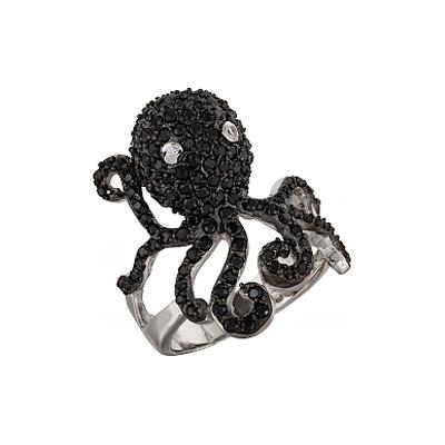Серебряное кольцо  99601