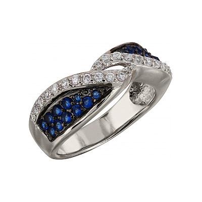 Серебряное кольцо  99602
