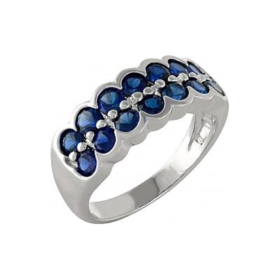 Серебряное кольцо  99914