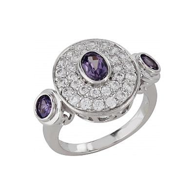Серебряное кольцо  Ювелирное изделие 99928
