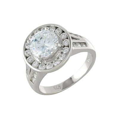 Серебряное кольцо  99929