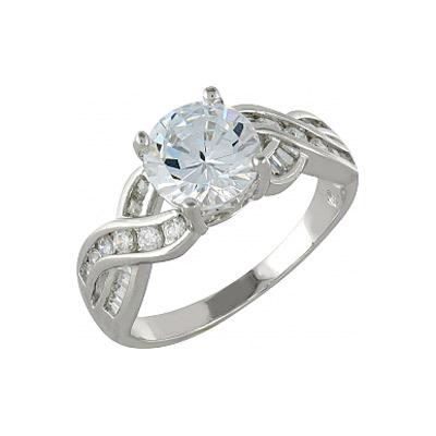 Серебряное кольцо  99931