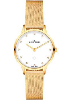 Швейцарские наручные  женские часы Manfred Cracco 30005LM. Коллекция Jackie