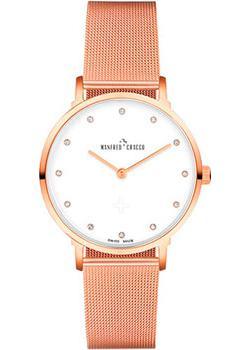 Швейцарские наручные  женские часы Manfred Cracco 30006LM. Коллекция Jackie