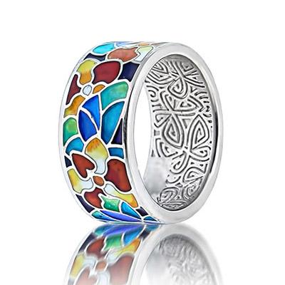 Серебряное кольцо  marmelad101r