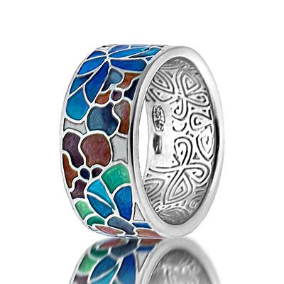 Серебряное кольцо  marmelad103r
