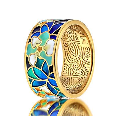 Серебряное кольцо  marmelad202r
