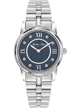 Швейцарские наручные  женские часы Mathey-Tissot D1086AQBU. Коллекция Artemis