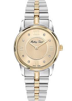 Швейцарские наручные  женские часы Mathey-Tissot D1086BDI. Коллекция Artemis