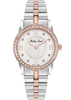 Швейцарские наручные  женские часы Mathey-Tissot D1086BQI. Коллекция Artemis