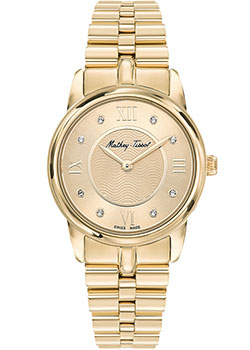 Швейцарские наручные  женские часы Mathey-Tissot D1086PDI. Коллекция Artemis