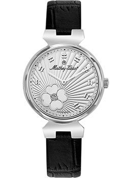 Швейцарские наручные  женские часы Mathey-Tissot D1089ALI. Коллекция Fiore
