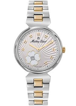 Швейцарские наручные  женские часы Mathey-Tissot D1089BYI. Коллекция Fiore