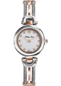 Швейцарские наручные  женские часы Mathey-Tissot D538BI. Коллекция Manhattan