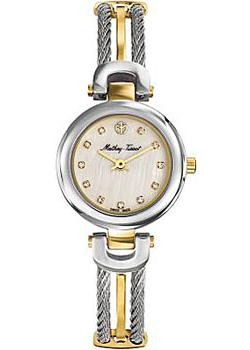 Швейцарские наручные  женские часы Mathey-Tissot D538BYI. Коллекция Manhattan