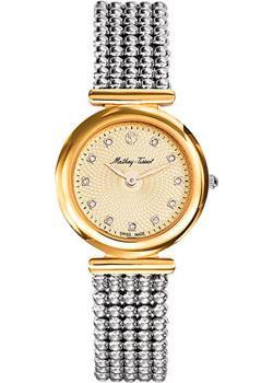 Швейцарские наручные  женские часы Mathey-Tissot D539BDI. Коллекция Elegance