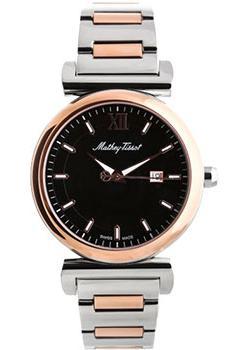 Швейцарские наручные мужские часы Mathey-Tissot H410BN. Коллекция Elegance