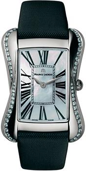 Швейцарские наручные  женские часы Maurice Lacroix DV5012-SD531-160. Коллекция Divina
