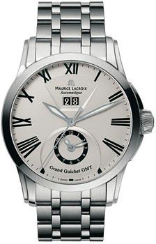 Купить Часы мужские Швейцарские наручные  мужские часы Maurice Lacroix PT6098-SS002-110. Коллекция Pontos  Швейцарские наручные  мужские часы Maurice Lacroix PT6098-SS002-110. Коллекция Pontos